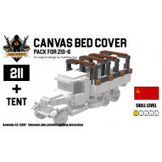 Canvas Bed Cover - Pack for Zis-6