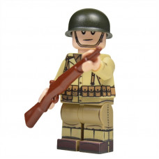WW2 U.S. Army Rifleman Minifigure
