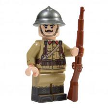 WW2 Belgian Soldier Minifigure