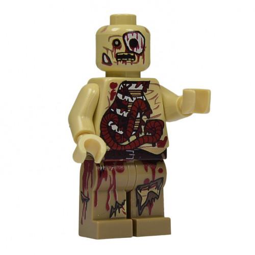 Walker Zombie Minifigure