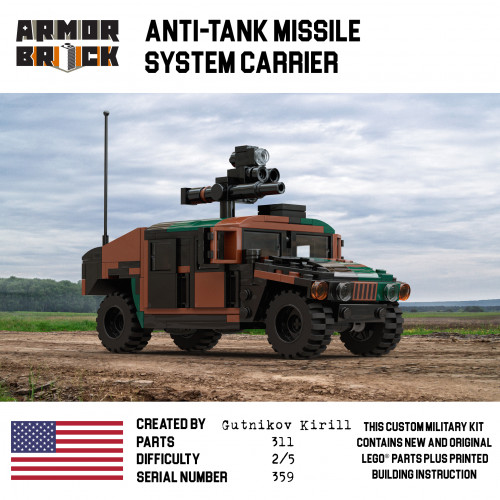Anti-Tank Missile System Carrier
