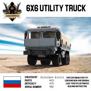 6x6 Utility Truck