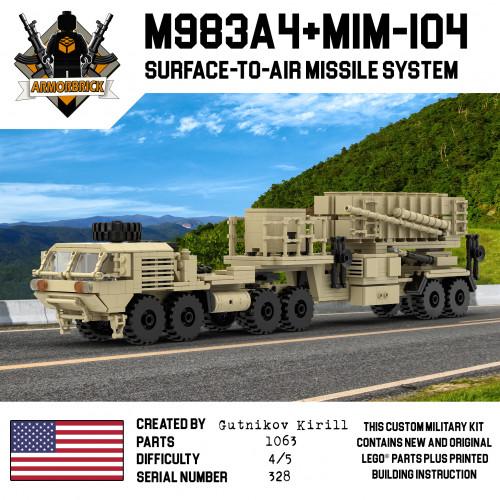 M983A4 & MIM-104 Patriot