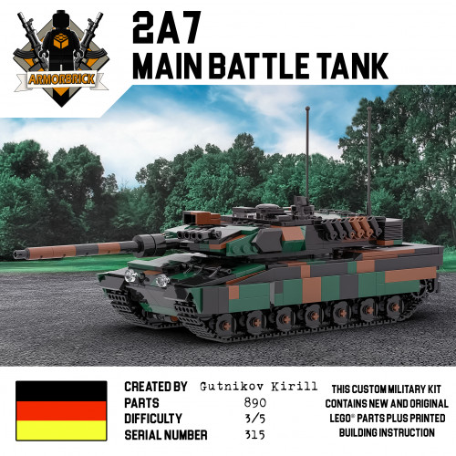 2A7 Main Battle Tank