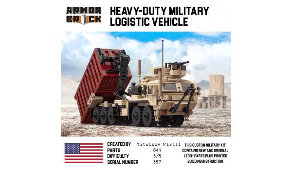 Heavy-Duty Military Logistic Vehicle
