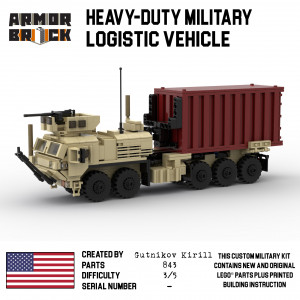 Heavy-Duty Military Logistic Vehicle