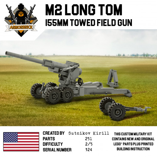 155 mm gun M2 Long Tom